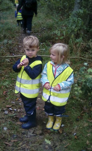 Ascott preschool blackberry walk Oct 18