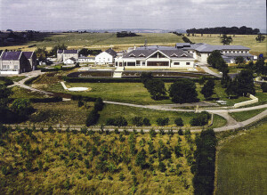 Aerial photograph of the new Leafield Technical Centre - TWR-1 Date: c 1990s