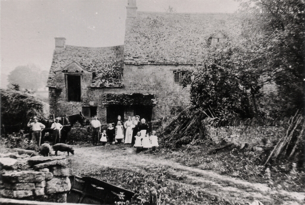 Frog Lane Milton under Wychwood - The Homestead late c 1900