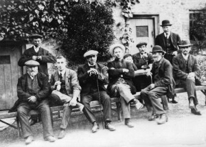 Group of local men