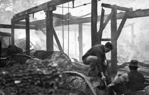 Fire at Groves 1935